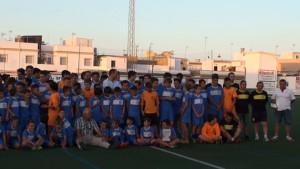 El Chipiona Club de Fútbol clausura la temporada de sus diez equipos
