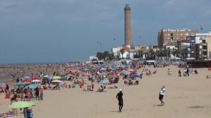 El Ayuntamiento de Chipiona pone a disposición de los usuarios de playas un número de teléfono para comunicar desperfectos o anomalías