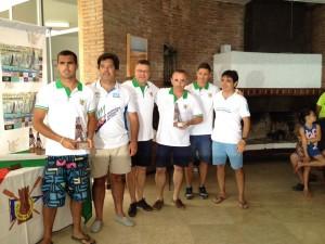 El CAND de Chipiona logra dos primeros puestos en la Copa de Andalucía de Catamaranes