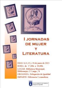 La Delegación de Igualdad organiza las primeras Jornadas Mujer y Literatura