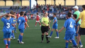 Los benjamines A del Chipiona vencen pero no logran superar la eliminatoria por el ascenso a segunda provincial