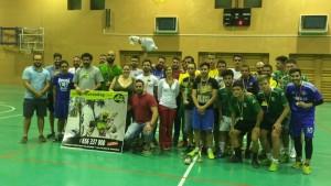 Cierra con un gran ambiente el torneo de fútbol sala organizado por el Club Deportivo Indoor Sala
