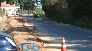 Comienza el acondicionamiento y mejora de la Pista de Montijo y el Ahorcado que mejorará el firme de más de 1.500 metros.