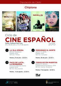 Diputación y Cultura traen a Chipiona un ciclo de cine Español que incluye cuatro proyecciones durante el verano.