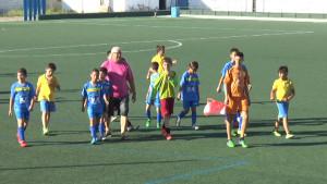 El Benjamín A del Chipiona Club de Fútbol deberá remontar en la vuelta por el ascenso un 6-3
