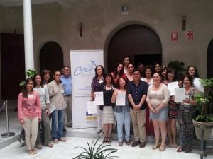 17 vecinas de Chipiona culminan su formación en 'Operaciones básicas de cocina' incluida en el plan Crece Empleo
