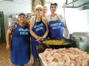 La Cocina Social de Chipiona celebra su primer aniversario con un menú especial