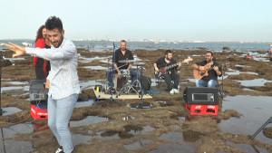 Ayer domingo se celebró una nueva cita del concierto de verano en la Piedra Salmedina.