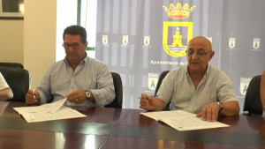 Ayuntamiento  y Juventudes Musicales firman el convenio que hace posible el Festival de Música Ciudad de Chipiona