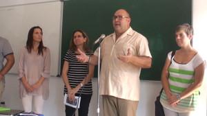 Catorce jóvenes extranjeros del Centro de Menores Tolosa Latour finalizan un curso de español