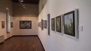 Viento del sur, las últimas creaciones de la pintora Anita Palacios, se muestra en El Castillo