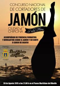 Seleccionados los ocho participantes en el Concurso Nacional de Cortadores de Jamón Ciudad de Chipiona