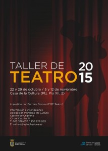 Estefanía Jurado anuncia un curso de iniciación al teatro que comenzará en octubre