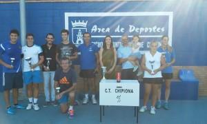 María de la O Castro y Antonio Lamoca se alzan con el Open de Tenis de Verano
