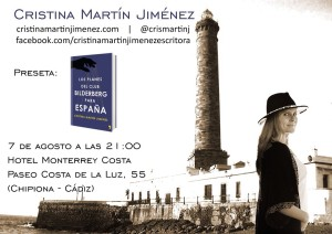 Cartel Cristina Martin Jimenez Bilderbderg