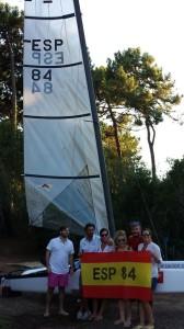 Santi Nieto y Adolfo Martínez triunfan en el Mundial de Catamaranes