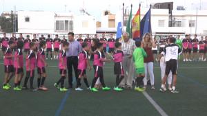 Casi doscientos jugadores formarán parte este año de los once equipos del Chipiona Club de Fútbol