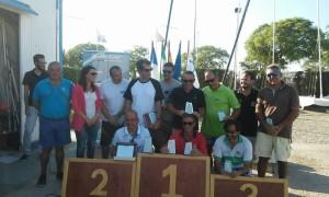 Regatistas del CAND copan el podio del Campeonato de Andalucía de catamaranes