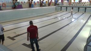 La piscina municipal abrirá el dieciséis de septiembre tras la puesta a punto anual