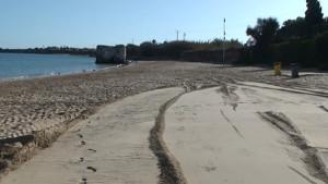 Javier Díaz anuncia mejoras en la Playa de Micaela para la que se solicitará la Bandera Azul