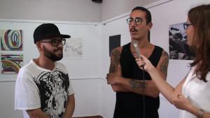 """Antonio Rueda y Curro Rodríguez vuelven a unirse por tercer año consecutivo para exponer sus nuevas obras bajo el título """"Inertia"""""""