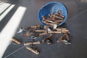 La Guardería Rural de Chipiona interviene numerosas costillas y aves cazadas ilegalmente