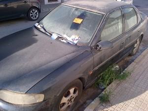 La Policía Local de Chipiona inicia una campaña de detección de vehículos abandonados en la vía pública