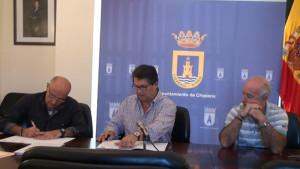 Ayuntamiento, CEPSA y CANS firman un nuevo convenio para la continuidad de las actividades didácticas en el Centro El Camaleón