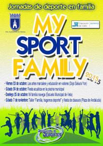 La Delegación de Deportes inicia el viernes una nueva edición del programa My sport family