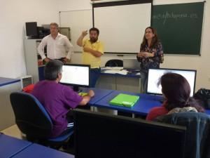Quince desempleados concluyen un curso de iniciación a la red de Internet de la Delegación de Fomento