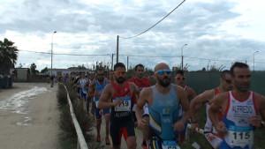 El Duatlón Cros Playas de Chipiona pudo disputarse con itinerario alternativo para la  carrera a pie
