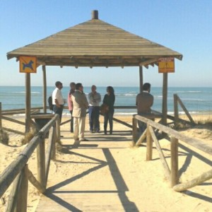 La Diputada Provincial de Medio Ambiente visita el Centro El Camaleón para conocer su funcionamiento y su entorno natural