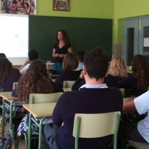 Alumnos de tercero y cuarto de ESO de todos los centros participan en talleres con motivo del Día contra la violencia hacia las mujeres