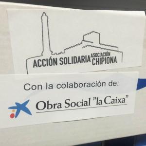 oncluye satisfactoriamente la campaña de calzado escolar de Acción Solidaria Chipiona