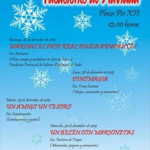 Cultura y Fiestas ponen en marcha el ciclo infantil Vacaciones de Navidad para los niños y niñas de Chipiona.