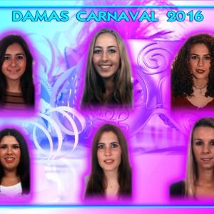 Elegidas las seis damas aspirantes a convertirse en Perla del Carnaval