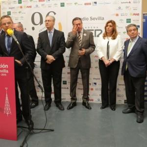 Abierta al público la exposición de los 90 años de Radio Sevilla