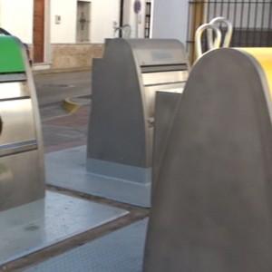 A pleno rendimiento todos los contenedores soterrados instalados en Chipiona