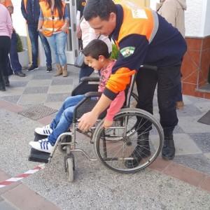 Chiadi hace ver las dificultades de las personas con discapacidad en la vida diaria