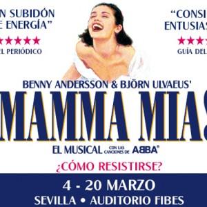Del 4 al 20 de marzo llega a Sevilla el musical Mamma Mia!