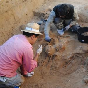 La exhumación de la fosa de Puerto Real avanza con una segunda fase