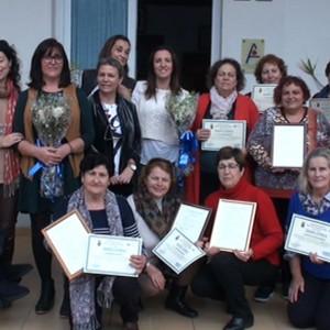 30 mujeres reciben sus diplomas de participación en el proyecto Mujer Asocia-te de refuerzo de colectivos femeninos