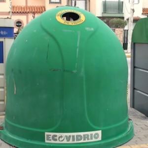 Chipiona aumentó este año en más de 41 toneladas el vidrio reciclado