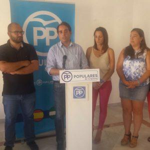 El Partido Popular muestra el apoyo del Gobierno de España a Chipiona y la provincia en contraste con el abandono de la Junta