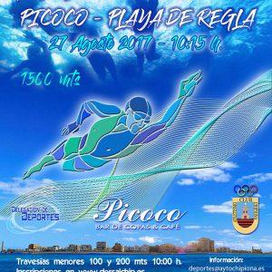 170825 Cartel XII Travesía Picoco Playa de Regla