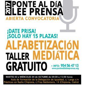 15 mujeres de Chipiona realizan un taller de alfabetización mediática de la Asociación de Emisoras Municipales de Andalucía