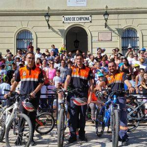 A Chipiona le gusta la bici y lo vive a lo grande con una gran fiesta ciudadana