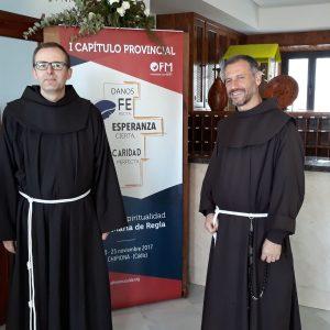 Concluye el primer capítulo de la provincia franciscana de la Inmaculada Concepción que se ha celebrado durante seis días en Chipiona