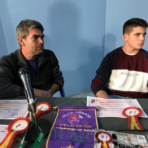 José Antonio Murga y José Antonio Fernández se alzan con sendos campeonatos nacionales de criadores de gallina sureña