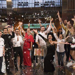 Saúl Craviotto gana 'MasterChef Celebrity' 2 ante más de 3,4 millones de espectadores (29,7%)